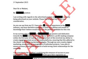 Best Agriculture   Environment Cover Letter Samples   LiveCareer